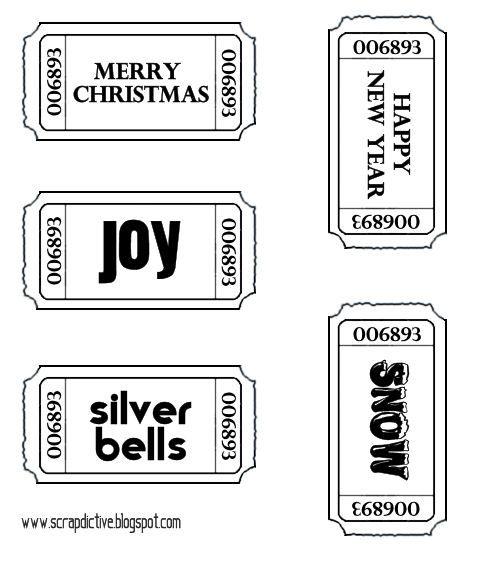 Image detail for -Scrapdictive: Snag 'm: free Xmas digi stamps - II