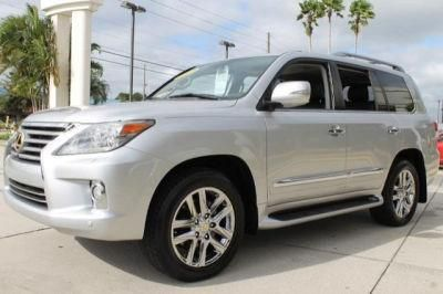 2013 Lexus LX570 Base 4x4 4dr SUV SUV 4 Doors Mercury Metallic for sale in St petersburg, FL Source: http://www.usedcarsgroup.com/used-lexus-for-sale-in-st_petersburg-fl