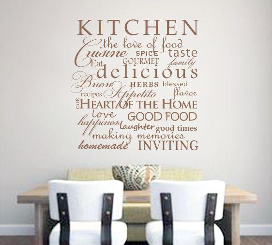 Kitchen delicious making memories love