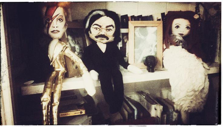 Ziggy, Toast and Florence Rag dolls