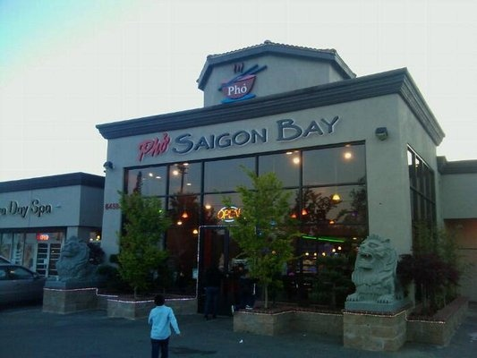 """ROTD 5/20/2013 - Tuyet N. - Saigon Bay - """"Saigon Bay has lately been my #1 pick when I'm craving Vietnamese food.  I've tried a variety of things on their menu and so far I really like their Pho with the thick noodle. I tried the Pho Ga and loved the broth! I also tried their Bun Bo Hue and to me, it's probably the best I've tasted in Sacramento!  They have such a wide selection of food on their menu and they have pictures on them too! HUGE PLUS!"""""""