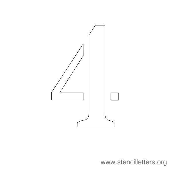 http://stencilletters.org/numberstencils1-10/number_stencil_4.jpg
