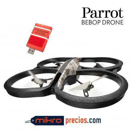 AR DRON PARROT 2.0 ELITE EDITION SAND - CUADRICOPTERO - CORTEX A8 1GHZ - 1GB DDR2 - WIFI B/G/N - CAMARA HD 720P 30FPS - MODULO GPS FLIGHT RECORDER