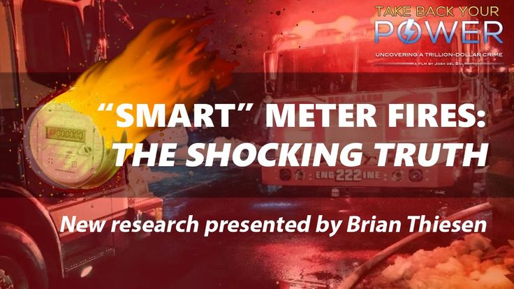 WATCH: 1000's of smart meter fires: whistleblower & court evidence (2015) ARTICLE: http://takebackyourpower.net/1000s-of-smart-meter-fires-new-whistleblower-court-evidence-video/