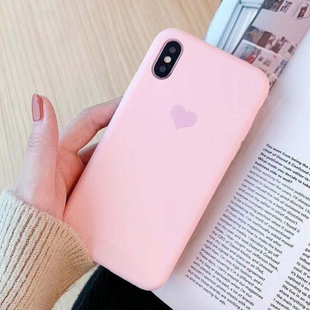 Coque iPhone 11 Lila Matte Flex