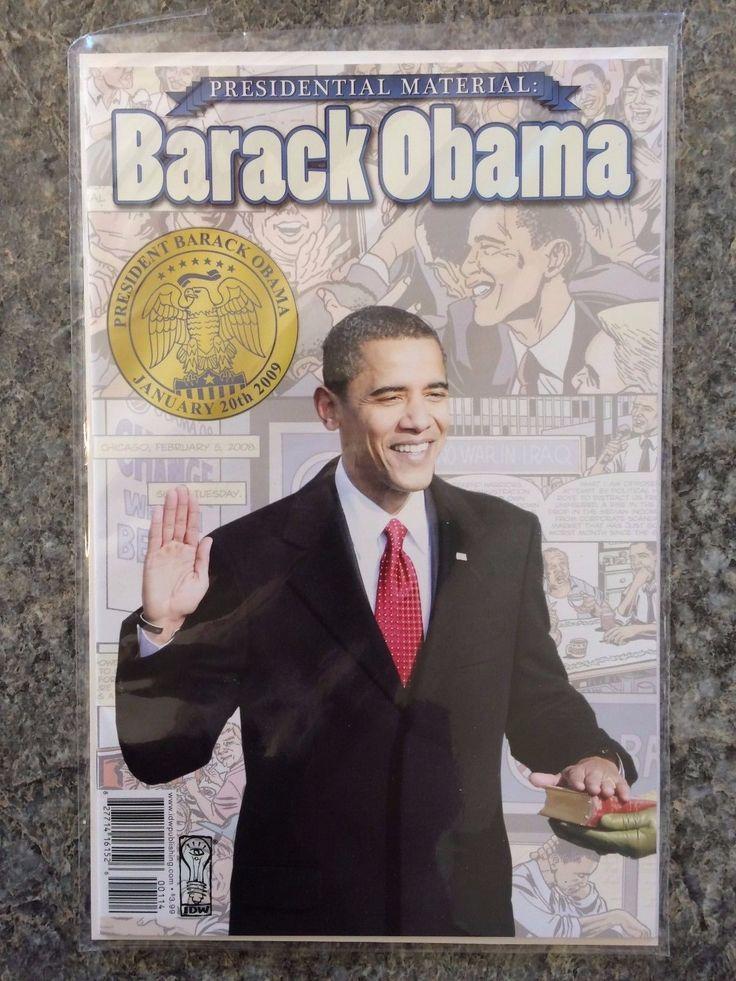 Barack Obama: 2008 Barack Obama Presidential Material Comic Book -> BUY IT NOW ONLY: $2.99 on eBay!