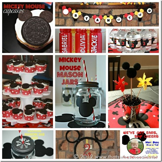 Mickey Mouse Birthday Party by That's What {Che} Said