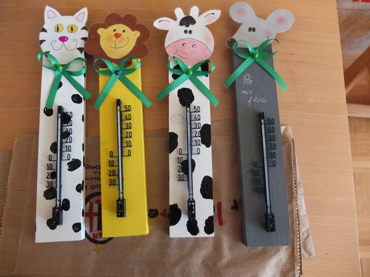 Thermometer Geschenke Basteln Mit Kindern Weihnachten