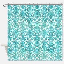 Turquoise Shower Curtain Cafe Press