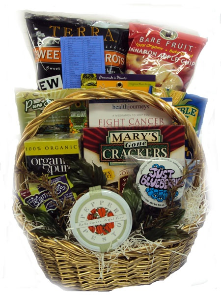 gift basket for woman with cancer