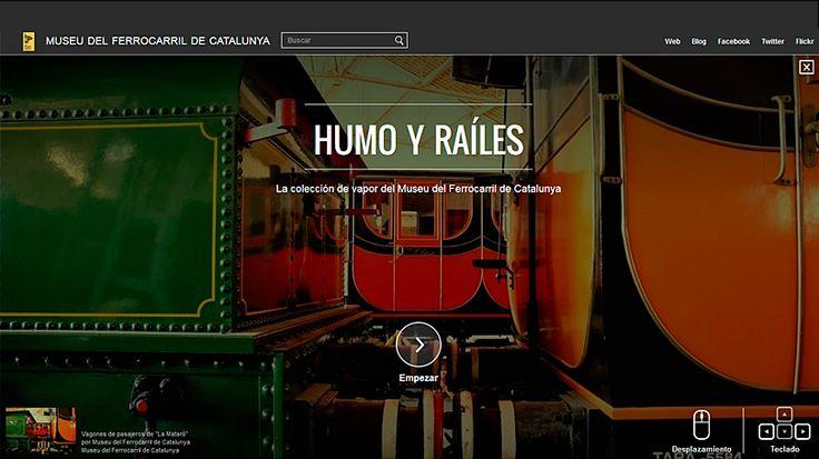 Les exposicions virtuals del Museu del Ferrocarril, portada al Google Open Gallery
