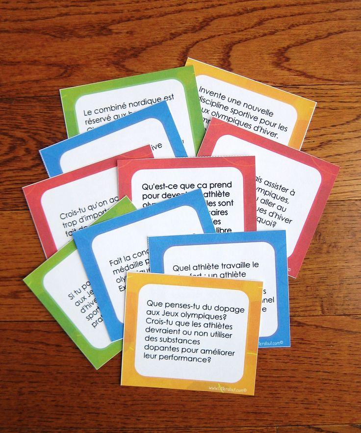 Sujets d'écriture sur les Jeux olympiques d'hiver (9-12 ans): Cette activité des plus attrayante saura certainement susciter la motivation de vos jeunes auteurs. Idéale pour les périodes d'écriture autonome ou la composante travaux d'écriture des 5 au quotidien. Les élèves rédigent un court texte à partir d'un sujet d'écriture sur le thème des Jeux olympiques d'hiver, choisi parmi les dix sujets proposés.