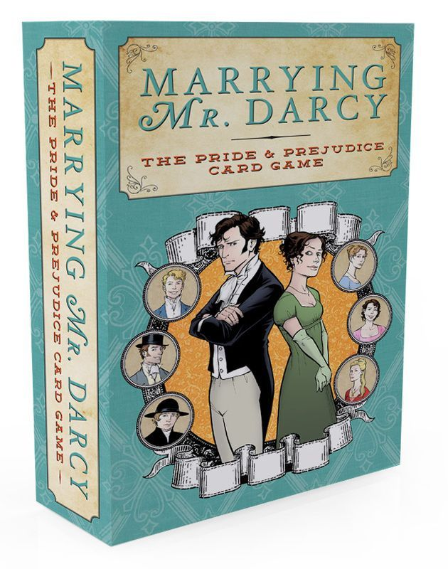 Marrying Mr. Darcy is now available as a Print & Play PDF for just $6.99. Check out https://sellfy.com/p/mtUJ/