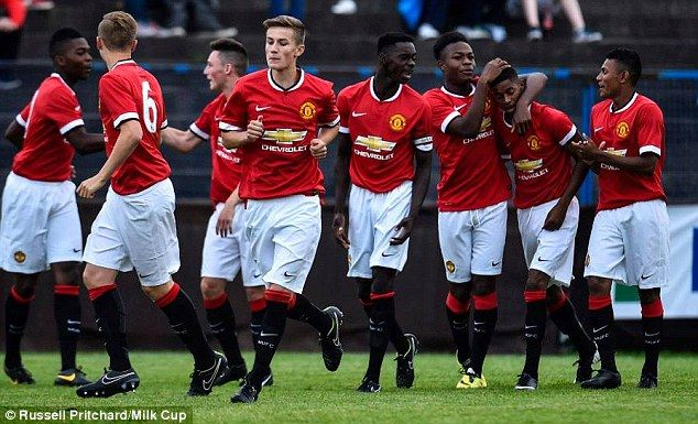 Manchester United have won their first two games at the Milk Cup