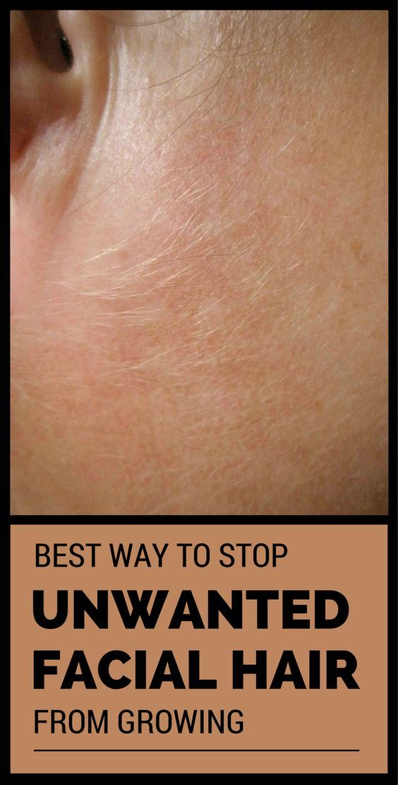 Best Way To Stop Unwanted Facial Hair From Growing