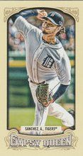 2014 Gypsy Queen Mini Base #35 Anibal Sanchez Detroit Tigers
