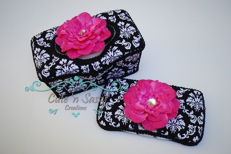 2 Pc Baby Wipe Case Gift Set -