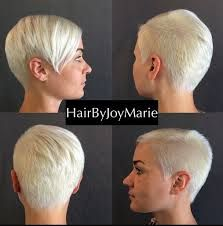 Image result for women with very short hair