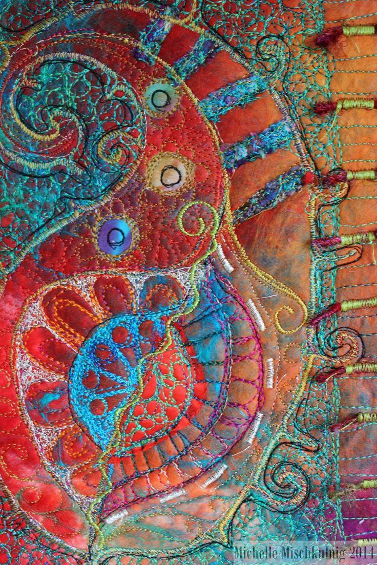 1246 best images about ART QUILTS on Pinterest