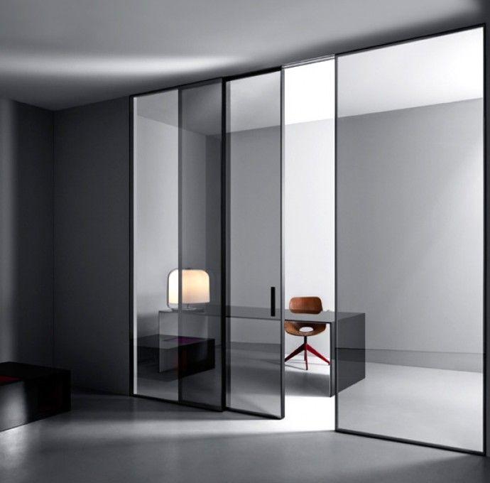 Le 25 migliori idee su porte di vetro su pinterest porte for Un telaio interno