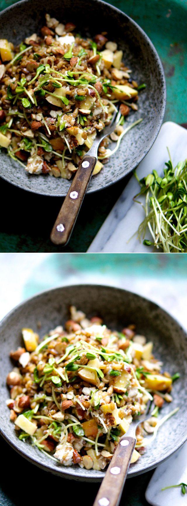 Salat med byg