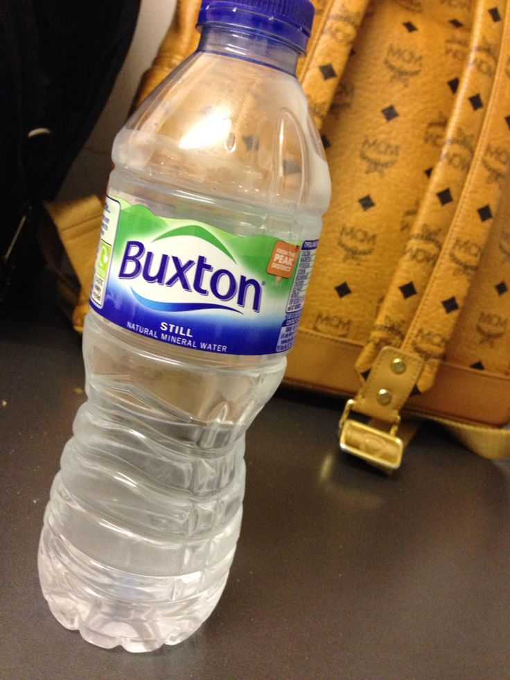 If you're from Derbyshire and don't drink Buxton water you may as well shoot yourself.