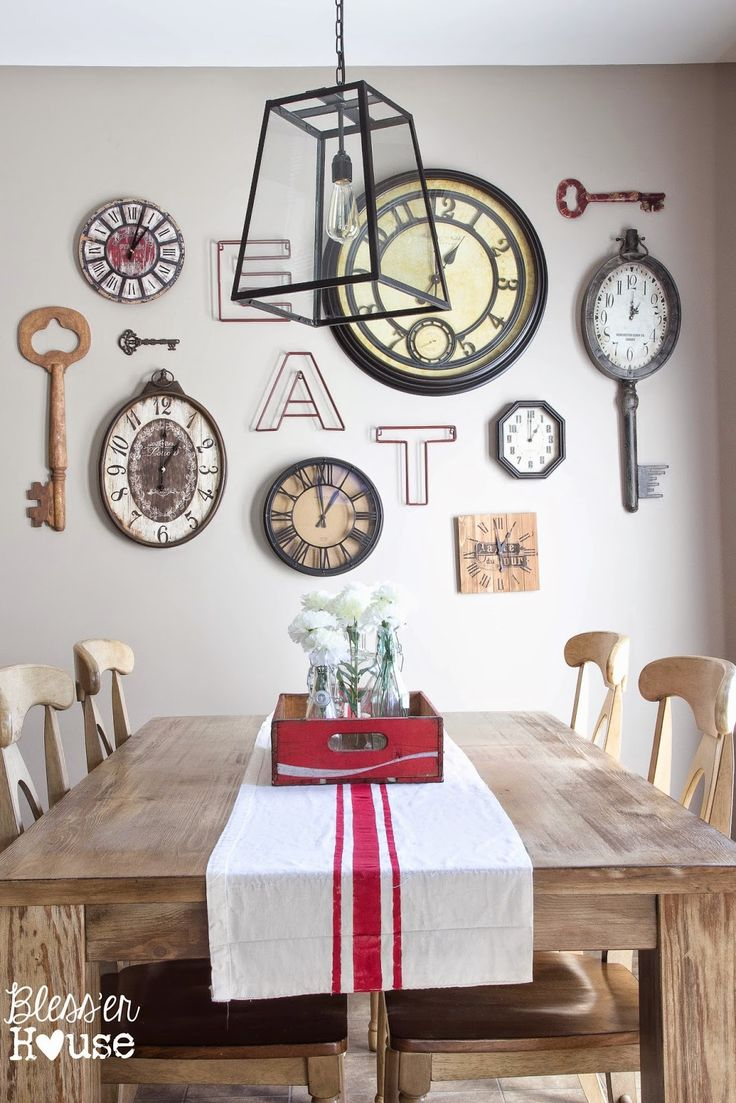 best 25+ dining room clock ideas only on pinterest | kitchen