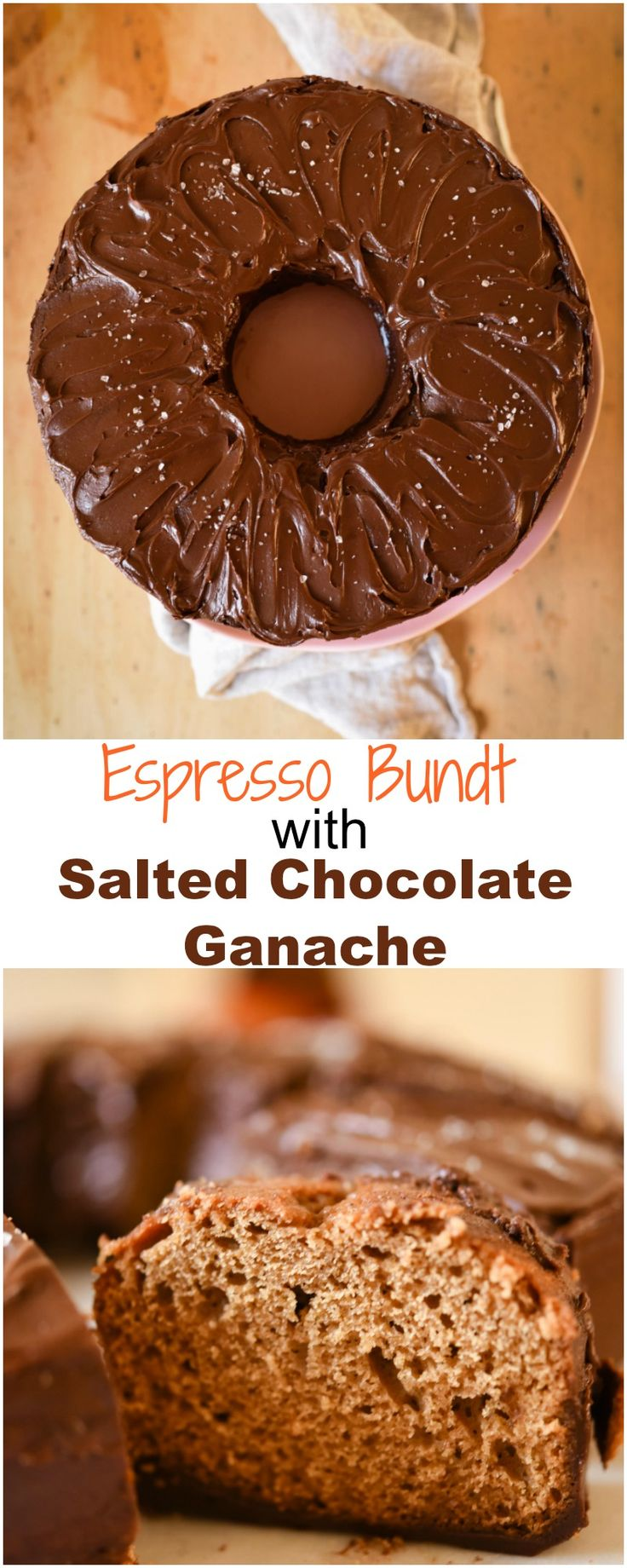 Espresso Bundt with Salted Chocolate Ganache | Patisserie Makes Perfect