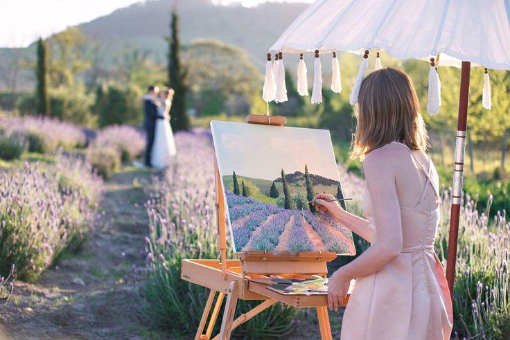 LavendLive Wedding Painter