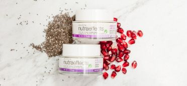 Replenish your skin & reduce signs of aging w/ the all-natural Avon nutraeffects Ageless creams. #AvonRep