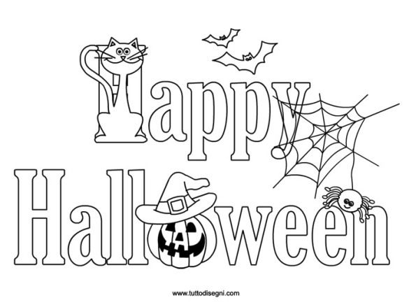 34 best Halloween images on Pinterest | Colouring, Colouring in ...