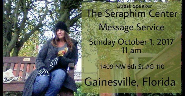 I am pleased and grateful to be invited back to speak at the the Seraphim Center's Sunday services on October 1. The topic will be Recognizing Signs from Heaven followed by messages from our loved ones in spirit. Services begin at 11 am please join us!