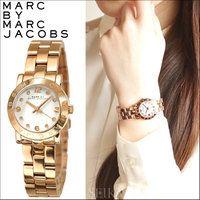 マークバイマークジェイコブスMARC BY MARC JACOBS スモールエイミー時計 腕時計 レディース ピンクゴールド ローズゴールド MBM3078