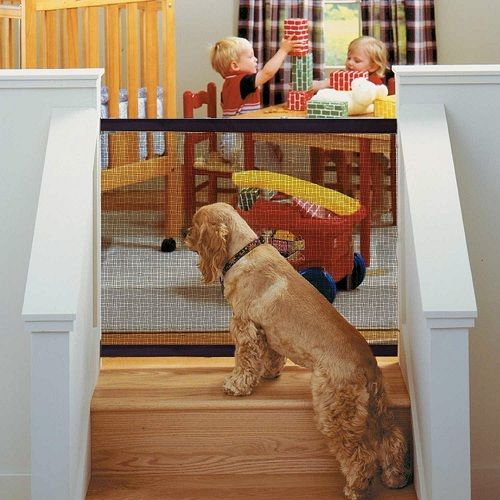 Portable Dog Gate For Baby Safety Pet Gate Dog Gate Door Guard