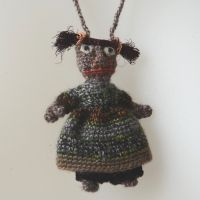 "The tinies - poupée Sophie Digard faite main- ""Genette"""