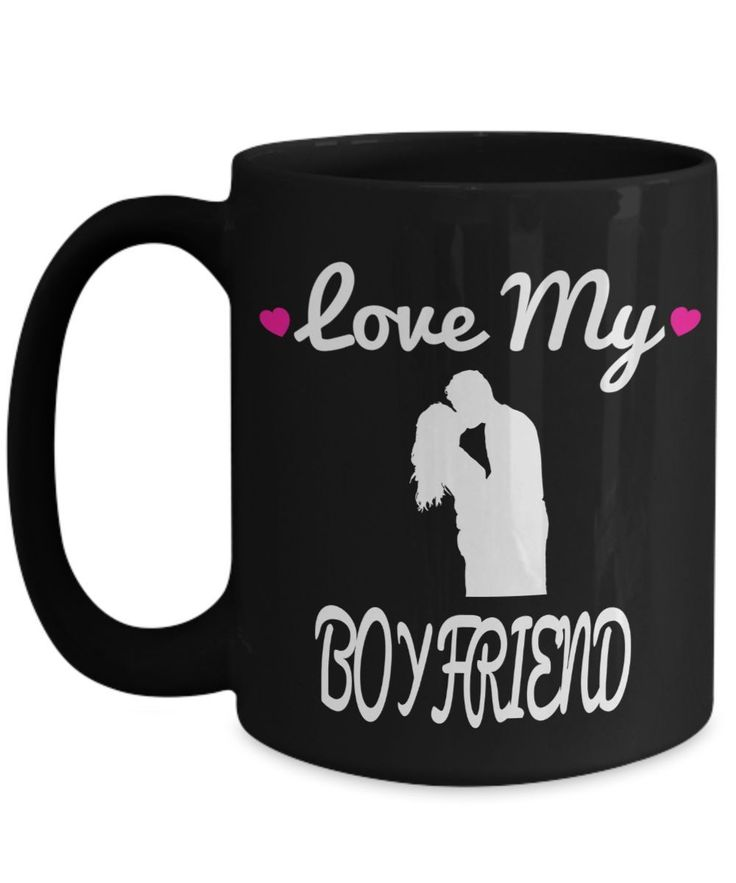 Boyfriend Gifts From Girlfriend Anniversary - 15oz Boyfriend Coffee Mug - Best Boyfriend Gifts For Birthday - Funny Boyfriend Mug - Love My Boyfriend #boyfriendgift #girlfriendbirthday