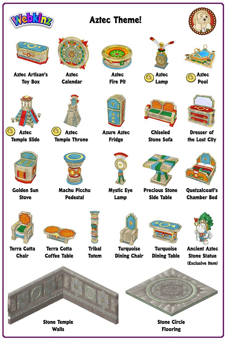 Aztec Theme Items. 61 best Webkinz Newz images on Pinterest   Carousels  2017 events