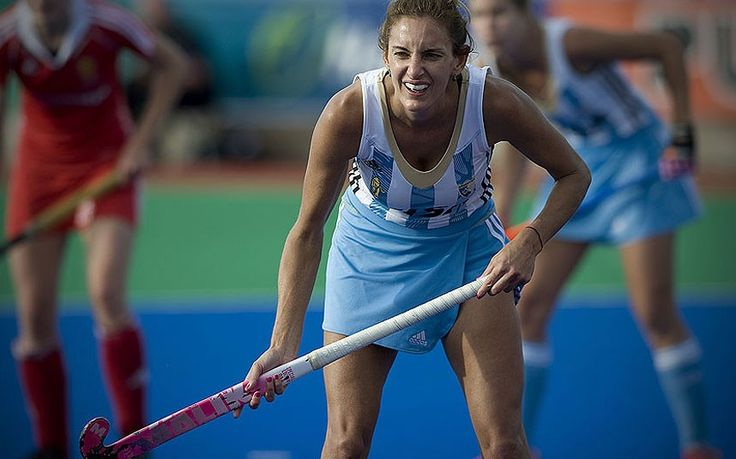 Luciana Aymar - Argentina Widely regarded as the greatest female player of all time, the slim Aymar can also lay claim to be the sport's finest dribbler. La Maga - The Magician - has won the FIH Player of the Year Award eight times and is front page news in Argentina, thanks to Argentina's two World Cup wins in 2002 and 2010.