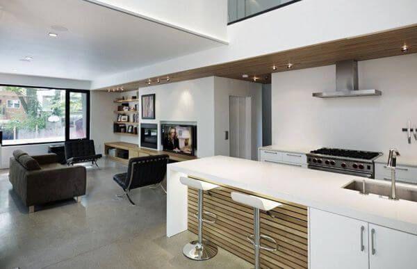 Salon Cocina Cocina Y Salon Juntos Madrid Cocieco Casas Modulares Prefabricadas Casas Modulares Hogar