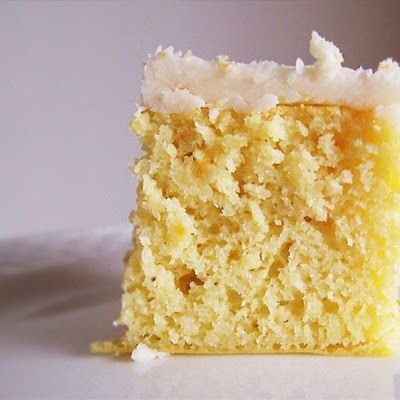 Gluten Free Coconut Flour Orange Cake with Coconut Oil Frosting