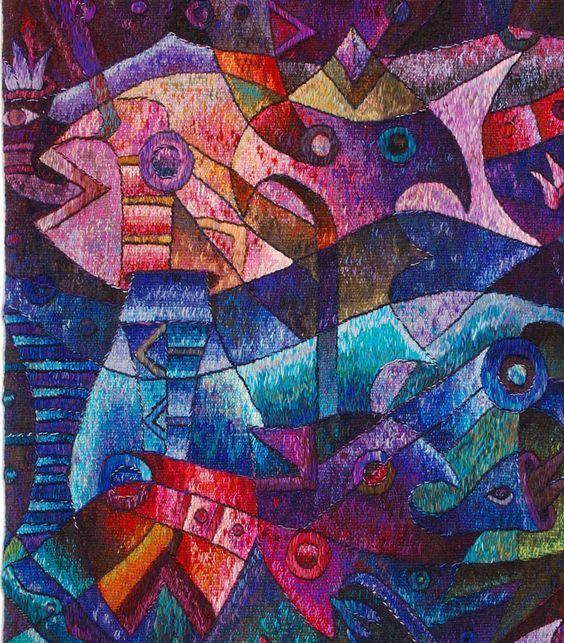 """Royal Fish Dance"" by Maximo Laura"