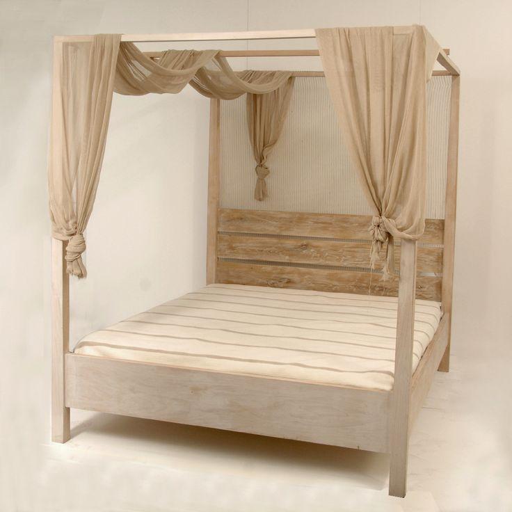 Κρεβάτι με ουρανό ΒΕ0009 by Loizos House