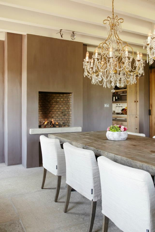 Braais can look great in an elegant space.