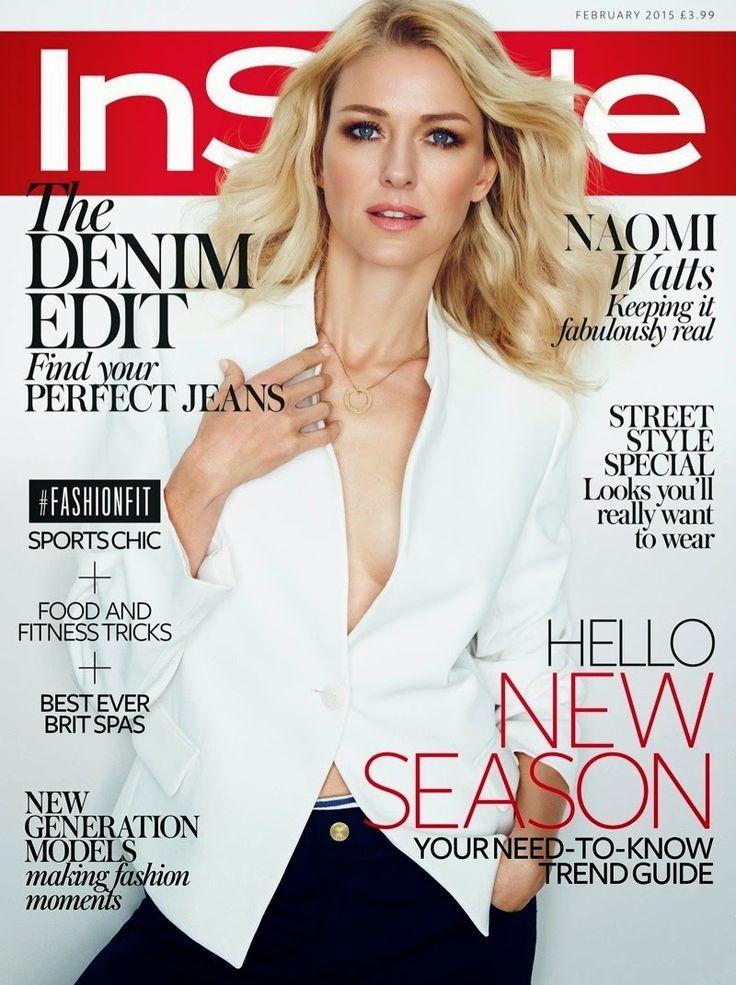 Ember Willowtree: Naomi Watts posa para la revista InStyle UK