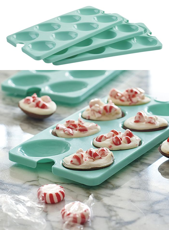 Egg Tray Inserts. Includes three inserts to hold up to 24 egg halves for mess-free transport.