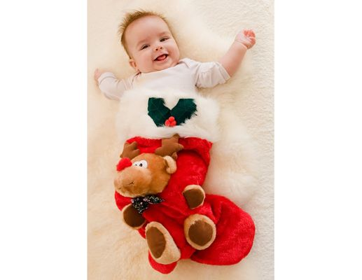 13 cute baby Christmas Card ideas