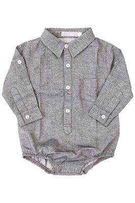 Body Camisa Bebê Empório Baby Chambre - www.nanapetit.com.br