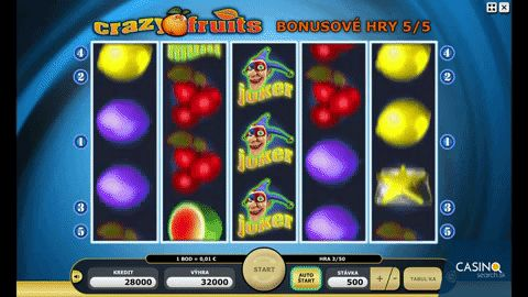 Review online slot of Crazy fruits from Kajot 🍉 🍒 🍉  More information here: http://www.slotgamesonline.eu/game/crazy-fruits-kajot