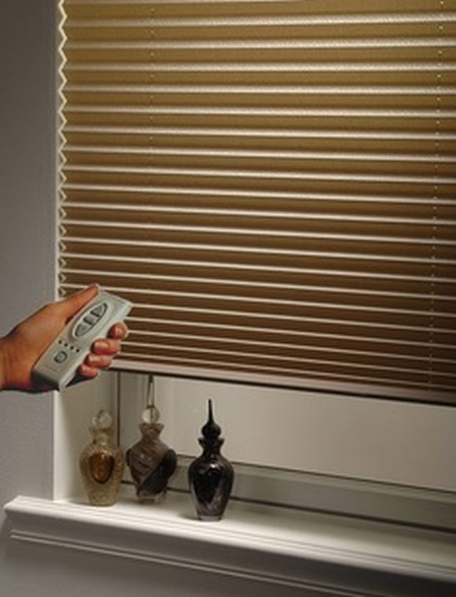 61 best images about window treatment decor on pinterest for Motorized blinds remote control