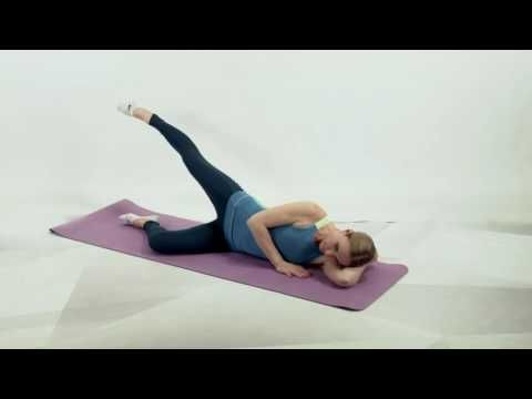 Лечебная гимнастика для тазобедренных суставов - YouTube